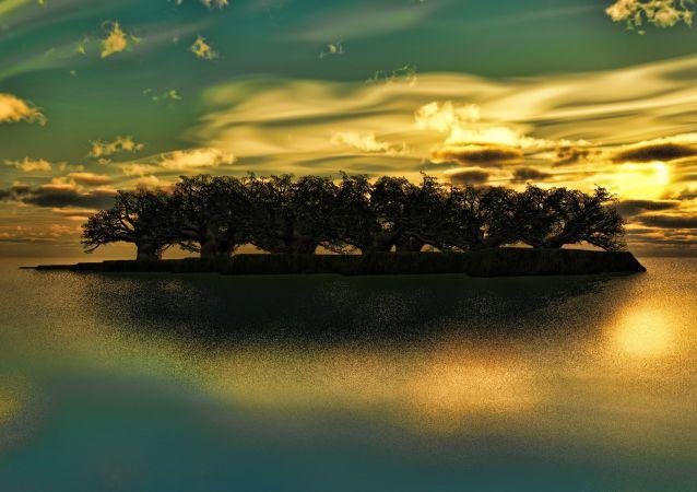 Una isla (imagen referencial)