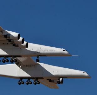 El avión experimental Stratolaunch