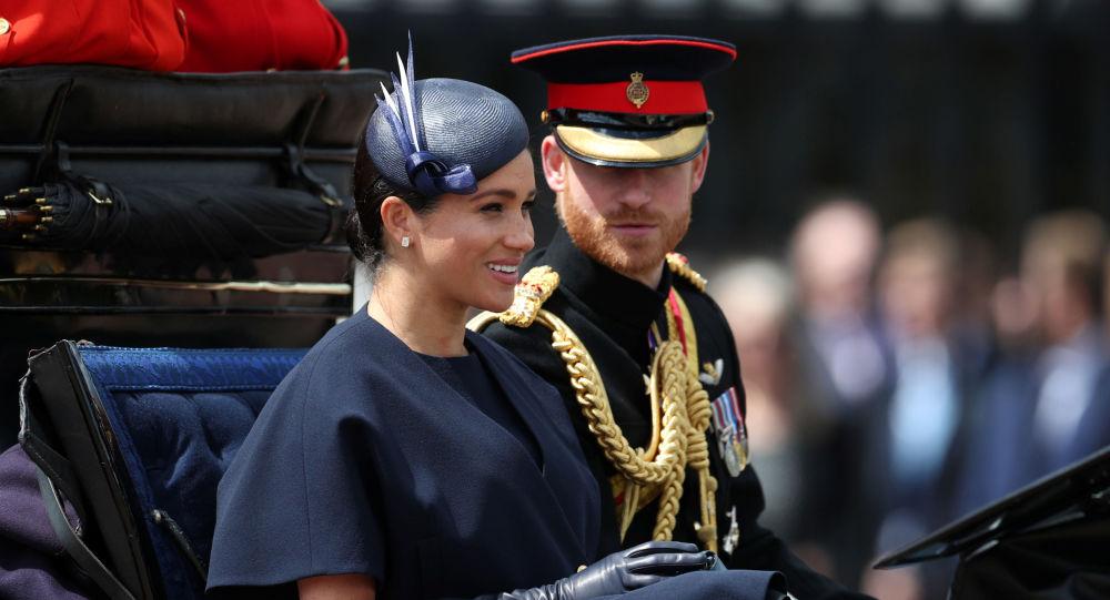 Así felicitó Archie al príncipe Harry por el Día del Padre
