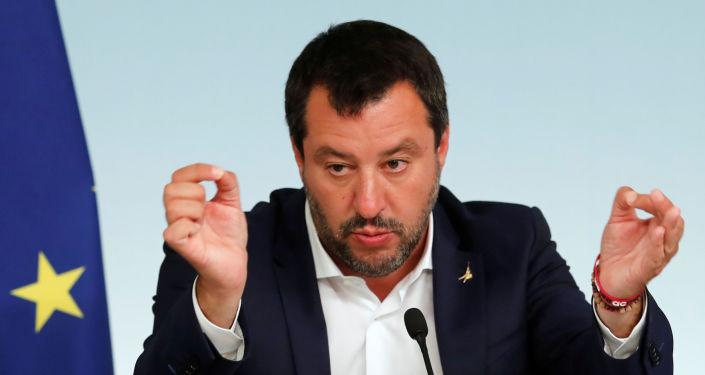 Matteo Salvini, ministro del Interior de Italia