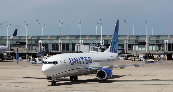 Un avión de United Airlines