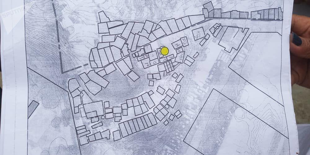 Un mapa de El Kilombo, en Coche, Caracas