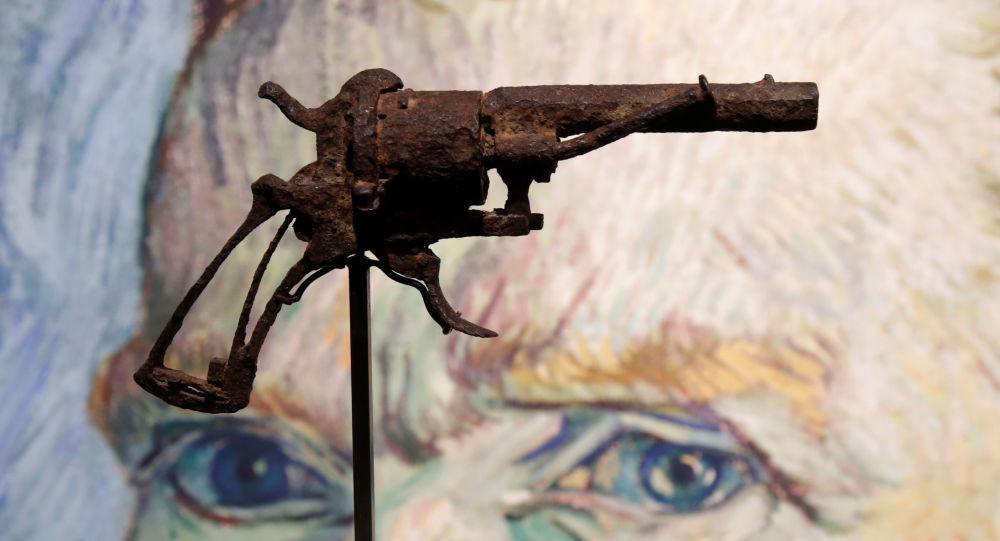 El revólver con el que se suicidó Vincent van Gogh