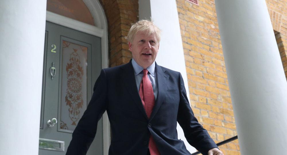 Boris Johnson, el excanciller británico