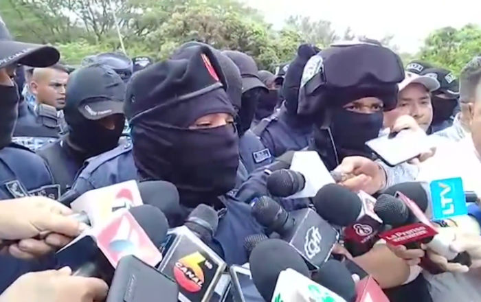 Protestas en Honduras: policías antidisturbios exigen mejoras en las condiciones laborales