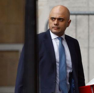 Sajid Javid, el ministro del Interior del Reino Unido