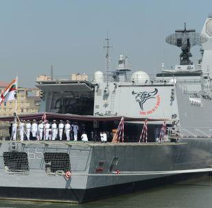 INS Chennai, buque militar indio