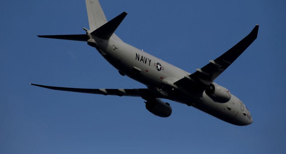 El avión P8 poseidón de EEUU (archivo)