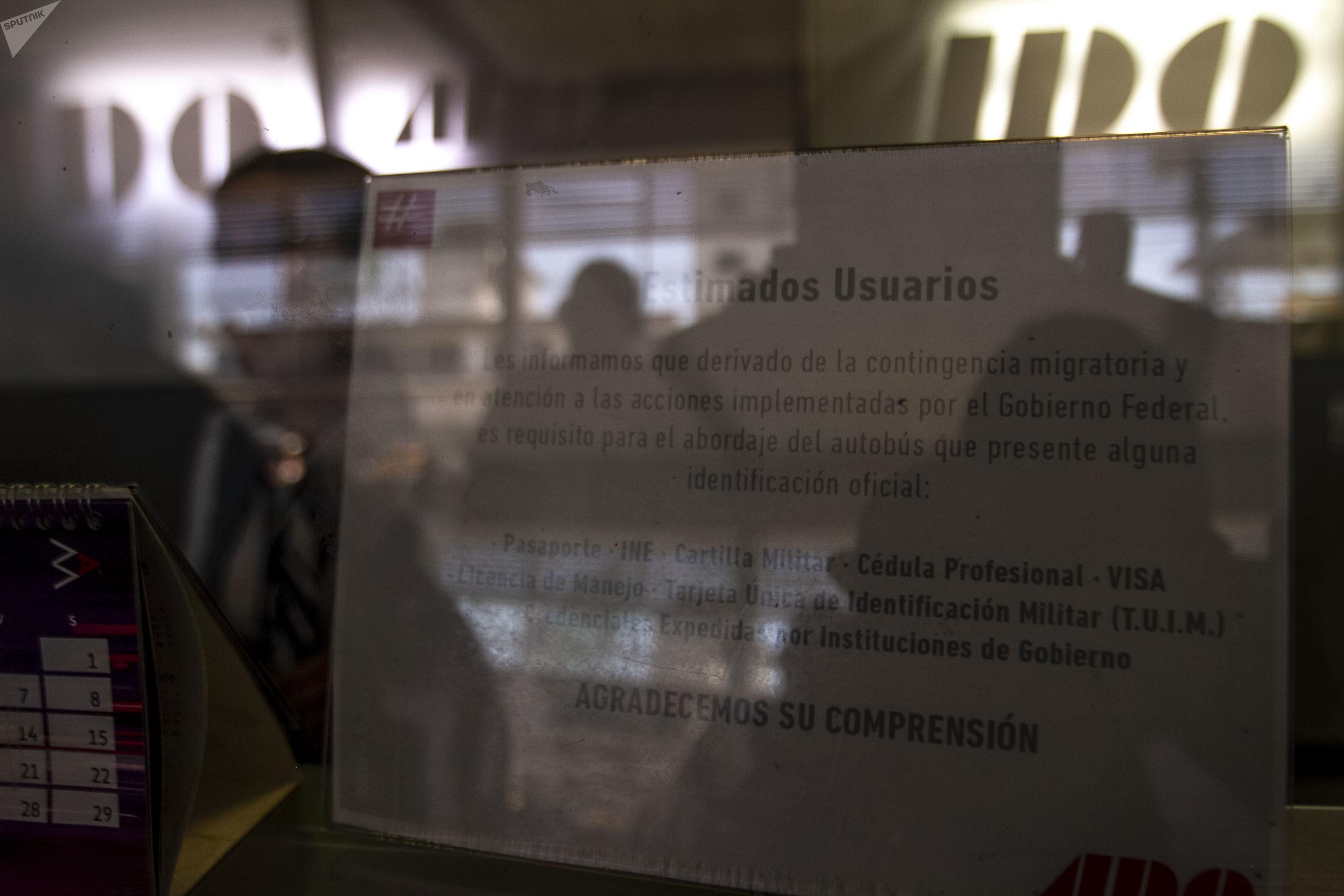 Compañías de transporte terrestre lanzan campaña para detener la migración en México