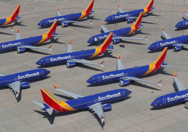 Los aviones Boeing 737 Max de Southwest Airlines