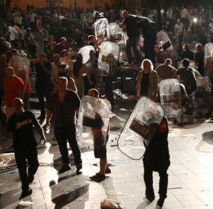 Las protestas en Georgia