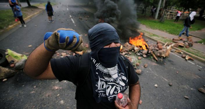 Protestas en Tegucigalpa, Honduras
