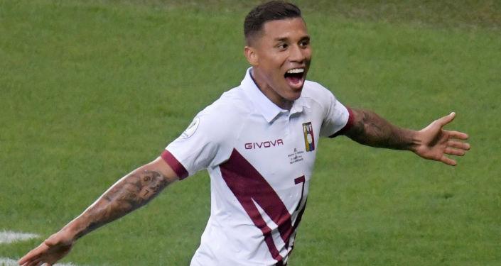 Darwin Machis, futbolista venezolano