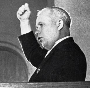 Nikita Jruschov, líder de la Unión Soviética de 1953 a 1964