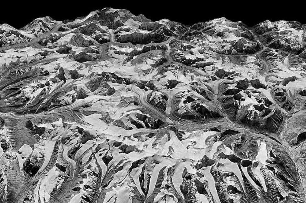 Los glaciares del Himalaya en 1975