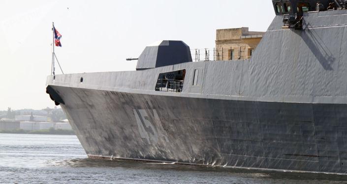 La fragata rusa Almirante Gorshkov arriba a Cuba