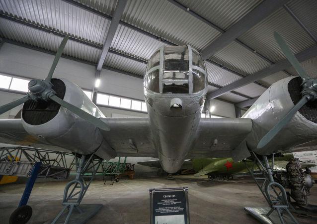 Un bombardero soviético SB-2
