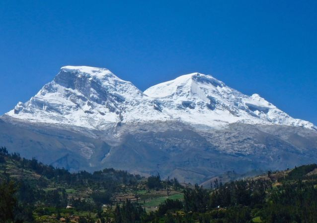El macizo nevado Huascarán