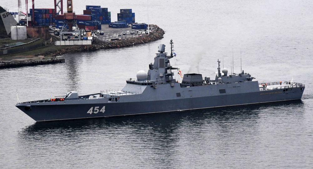 Fragata rusa Admiral Flota Sovetskogo Soyuza Gorshkov
