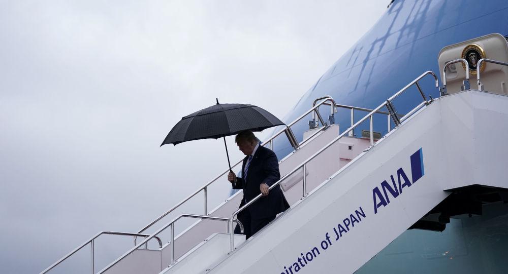 Donald Trump, presidente de EEUU en Osaka, Japón
