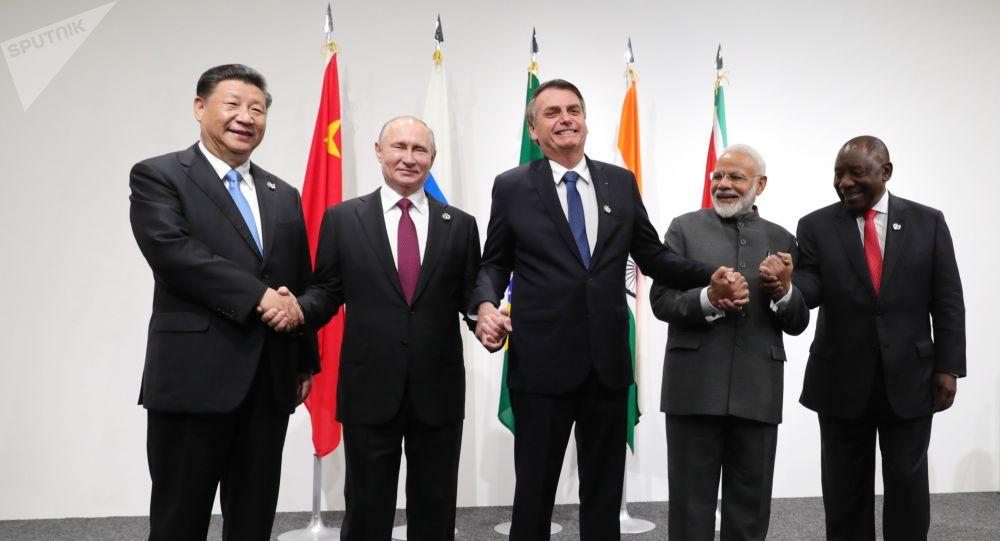 Reunión BRICS Osaka