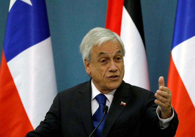 Sebastián Piñera, presidente de Chile (archivo)