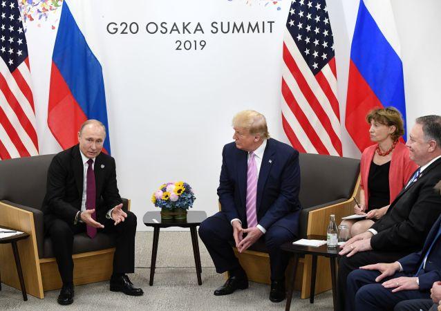 La reunión de Vladímir Putin y Donald Trump al margen de la cumbre del G20
