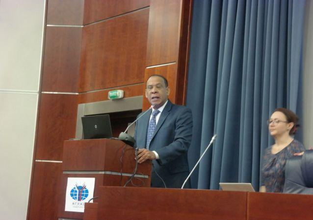 El embajador dominicano en Moscú, José Manuel Castillo Betances