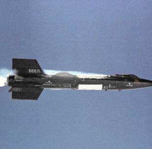 El X-15, un avión espacial de EEUU