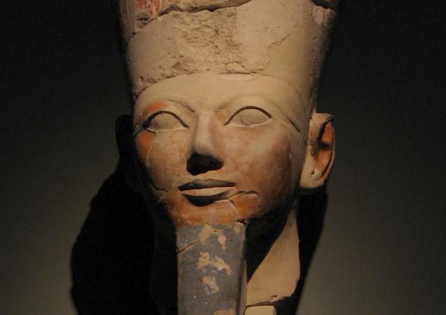 La cabeza de Hatshepsut
