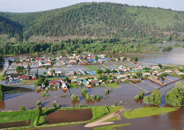 Inundaciones en Siberia