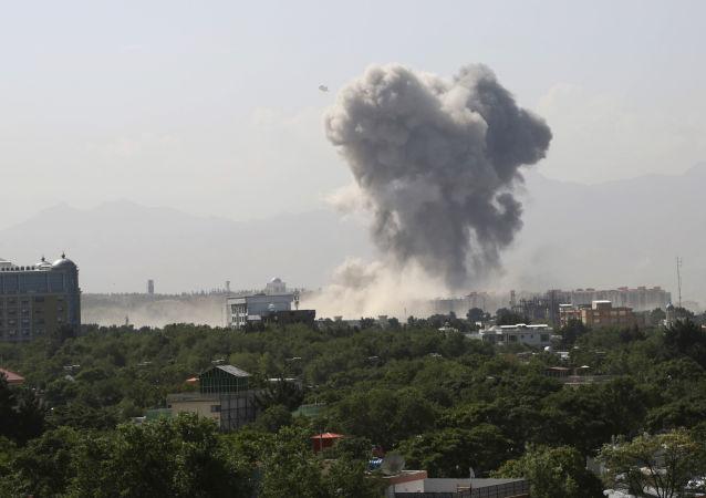 Explosión en Kabul, Afganistán