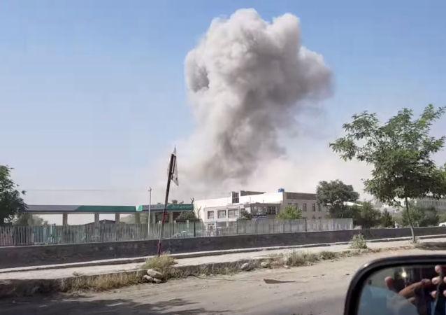 Situación tras el atentado en Kabul