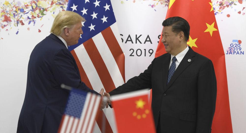 Donald Trump y Xi Jinping durante la cumbre del G20 en Osaka