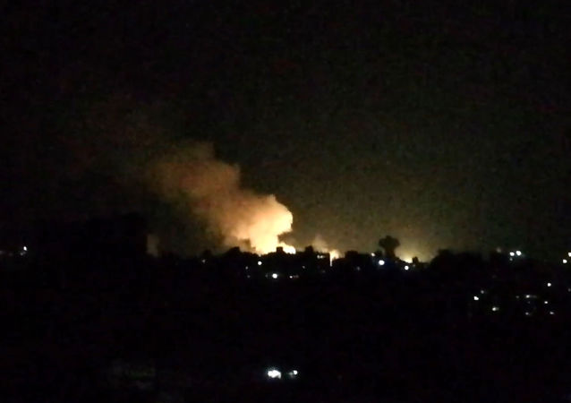 Ataques aéreo israelí en Damasco