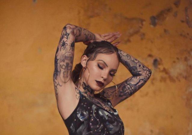 Belinda, la cantante mexicana