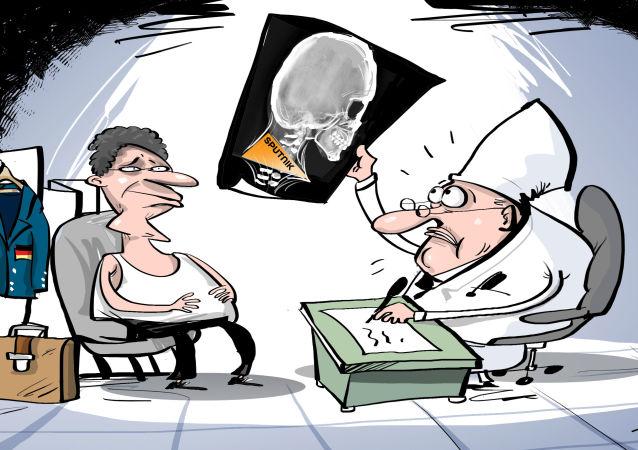 Sputnik se le atraganta a Alemania