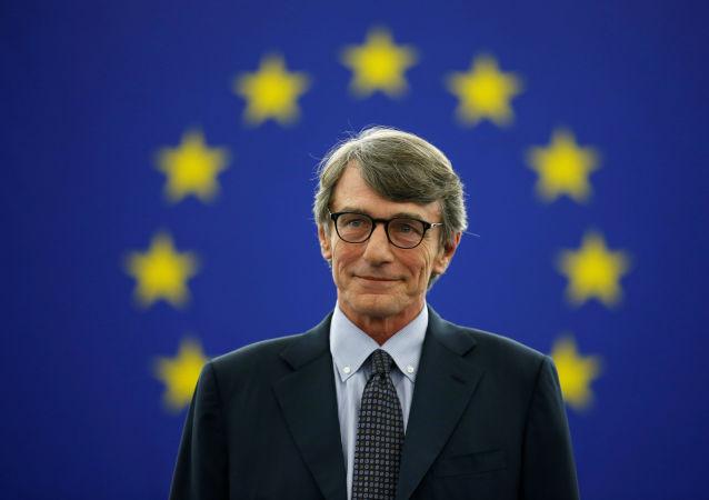 David Sassoli, nuevo presidente de la Eurocámara