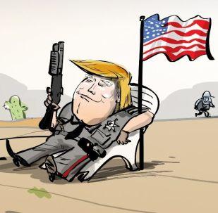 'Una muralla flanqueada': los mexicanos se burlan del muro de Trump