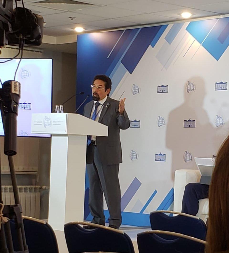 Guillermo Daniel Ortega Reyes,  vicepresidente de la Comisión de Relaciones Internacionales del Parlacen