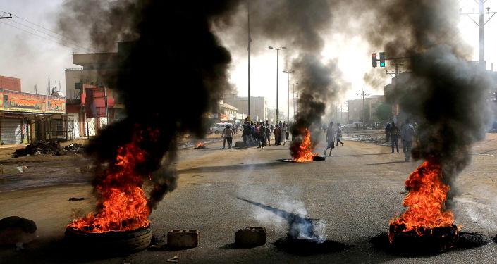 Protestas en Sudán
