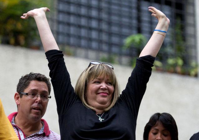 María Afiuni, la jueza detenida desde 2009 en Venezuela