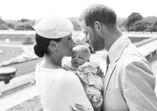 Los duques de Sussex bautizan a su primogénito