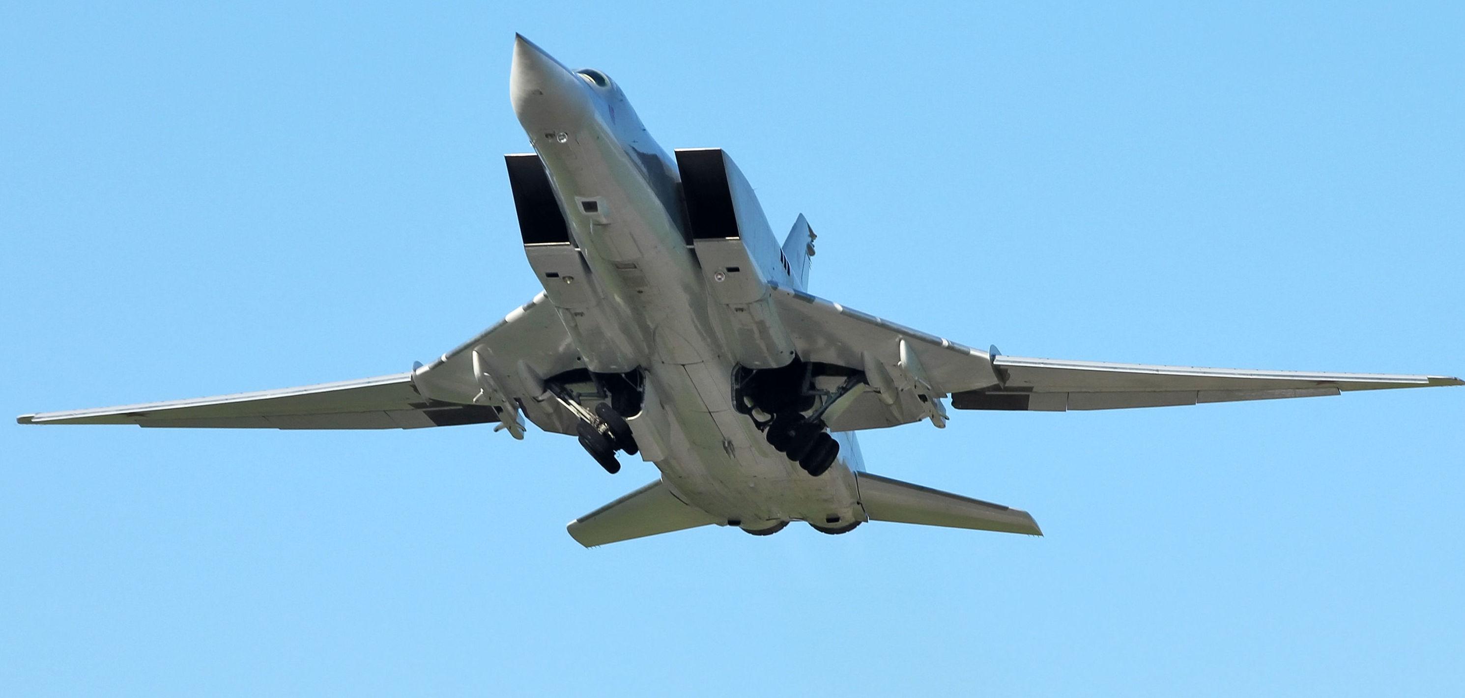 Un bombardero Tu-22M3 (archivo)