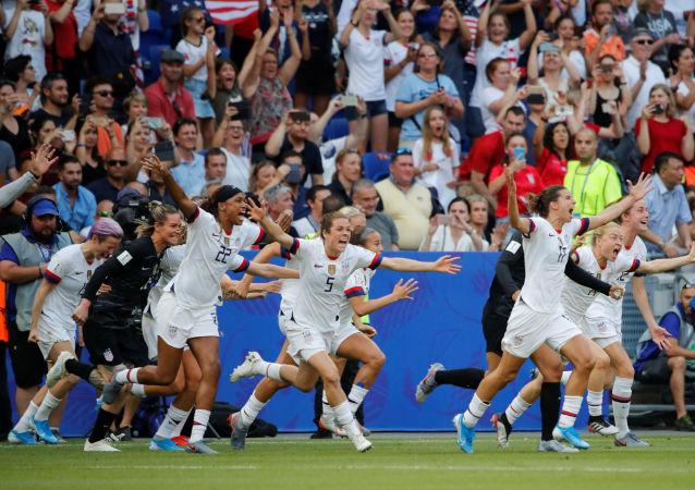 La selección de EEUU vence el Mundial de Fútbol Femenino 2019