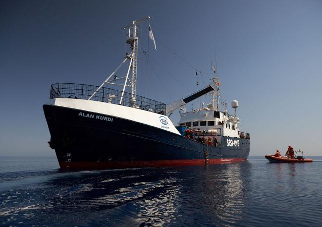 Alan Kurdi, barco de la ONG alemana Sea-Eye