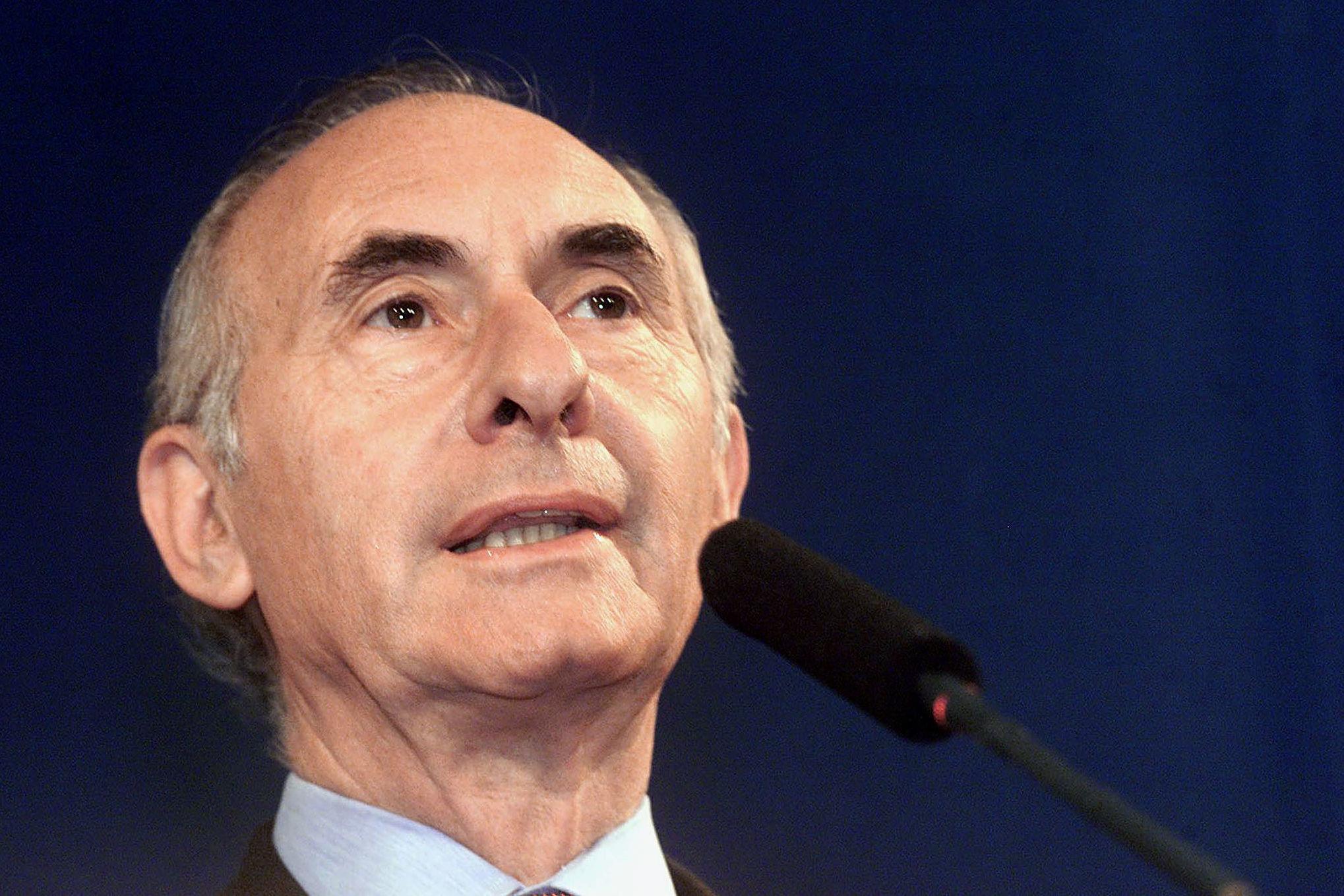 Fernando De la Rúa, expresidente de Argentina, en 2001