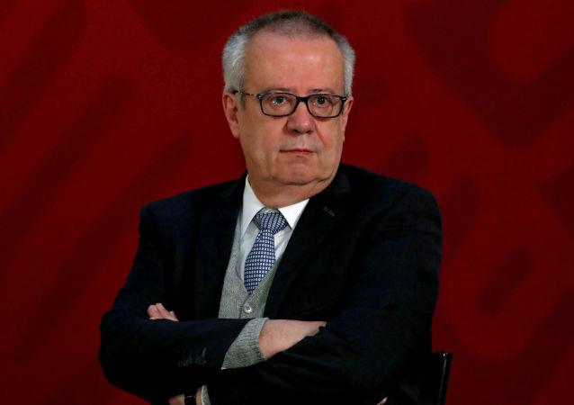 Carlos Urzúa, el exsecretario de Hacienda de México (archivo)