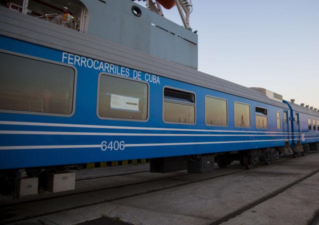 Los coches chinos que van a modernizar el ferrocarril cubano