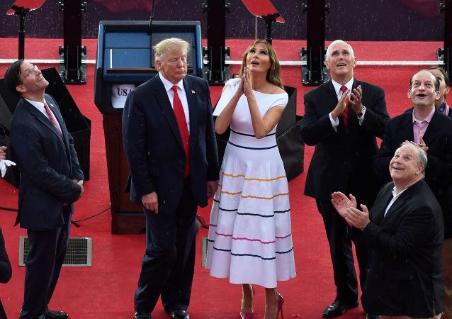 La primera dama estadounidense, Melania Trump